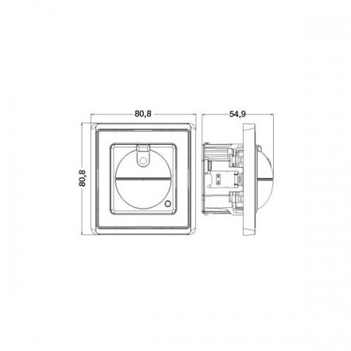 Intrerupator ST cu senzor de inalta frecventa 751111