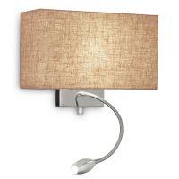 Lampa LED citit perete cu lumina de ambient HOTEL AP2 CANVAS 103204