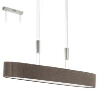 Suspensie ROMAO 2 95342 LED L1050 nichel mat/maro