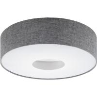 Plafoniera ROMAO 95346 LED D500 nichel mat/gri