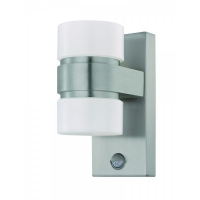 ATOLLARI 96277, Aplica LED/2 otel inoxidabil/argintiu/alb