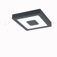 IPHIAS 96489, Plafoniera exterior LED 225X225 antracit