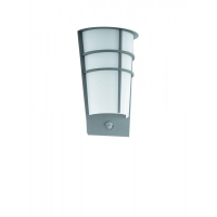 BREGANZO 1 96017, Aplica LED/2 cu senzor argintiu