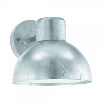 ENTRIMO 96206, Aplica exterior/1 E27 galvanizat/alb