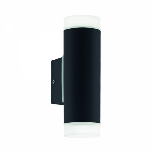 RIGA-LED 96505, Aplica exterior/2 negru/satinat