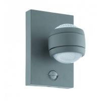 SESIMBA 1 96019, Aplica LED/1 cu senzor argintiu