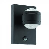 SESIMBA 1 96021, Aplica LED/1 cu senzor negru