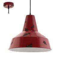 SOMERTON 49748, Pendul E27 D-350 rosu-antic