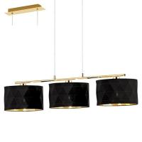 DOLORITA 39225, suspensie/3 L-920 auriu/negru-auriu