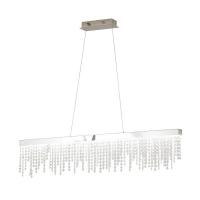 ANTELAO 39284, Suspensie LED 1150X90 crom/cristal