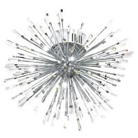VIVALDO 1 39258, Plafoniera LED/19 crom/cristal