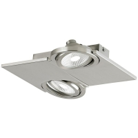 BREA 39248, Aplica/Plafoniera LED/2 nichel mat