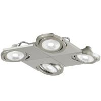 BREA 39251, Aplica/Plafoniera LED/4 nichel mat