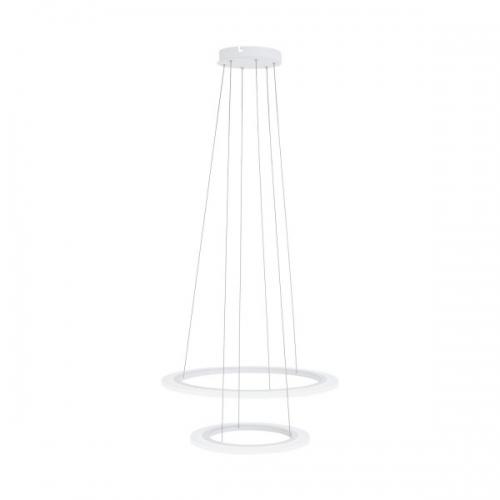 PENAFORTE 39273, Candelabru LED D-590 2 inele alb
