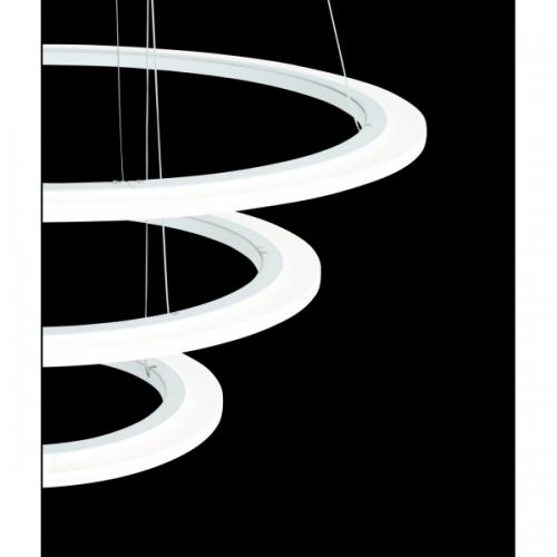 PENAFORTE 39274, Candelabru LED D-790 3 inele alb