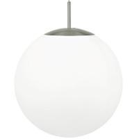 PIEDALE 39165, Pendul E27 D-430 nichel mat/opal