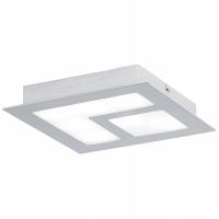 VALMORO 39045, Aplica/Plafoniera LED/7 nichel mat/aluminiu slefuit/SAT