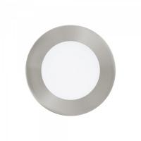 FUEVA 1 96406, Spot incastrabil LED D-120 nichel mat