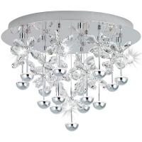 PIANOPOLI 39245, Plafoniera LED/15 crom/cristal