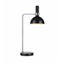 LARRY 106859, lampa birou, negru/crom, cu variator de intensitate