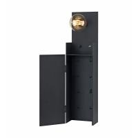 COMBO 106850, aplica metalica pentru chei cu incarcator USB