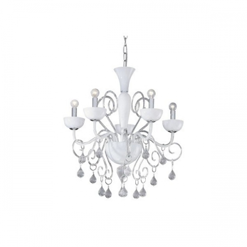 Lustra LILLY SP5 BIANCO 022789