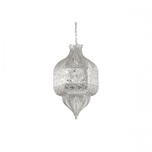 Candelabru NAWA-1 SP8 ARGENTO 141954, H73-183cm