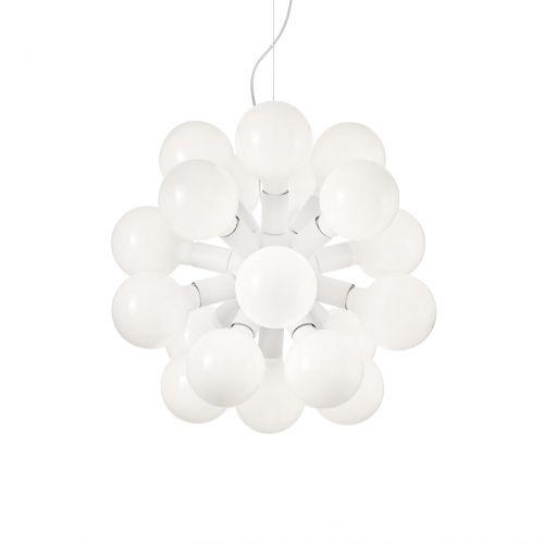 Candelabru LED modern DEA SP20 BIANCO 138176, alb, H:58-120cm