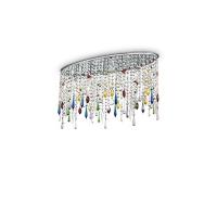 Plafoniera RAIN COLOR PL5 105239, cristale multicolore