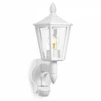 L15S lampa de gradina cu senzor 180°alba 617912