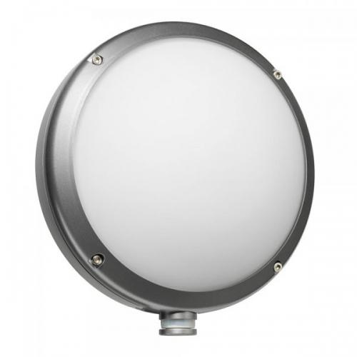 Aplica rotunda cu minisenzor 670214 argintie