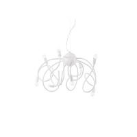 Lustra MULTIFLEX SP8 BIANCO 141893, H80-160cm