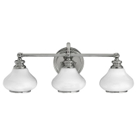 Aplica de baie Ainsley, 3xG9-LED, L-61cm, crom