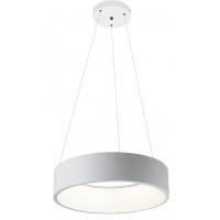 Lustra Adeline D-45,5cm, 26W-LED, alb mat