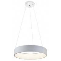 Candelabru Adeline D-60cm, 36W-LED, alb mat