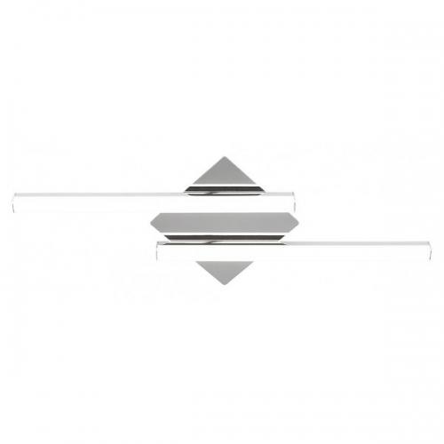 Plafoniera minimalista de baie Antonia, 2360 lumeni, crom, IP44