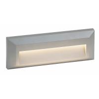 Leduri pentru scari LED Step, 1.6W argintiu, montaj aparent, IP65