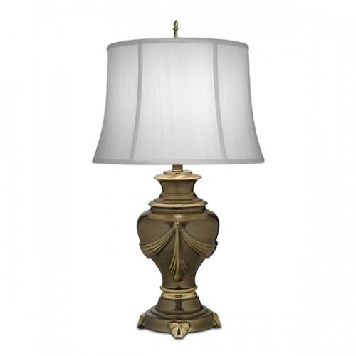 Lampa de bufet XL Detroit, bronz/alb, H-79cm