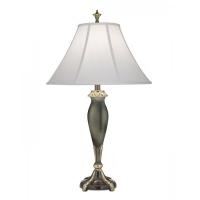 Lampa de bufet XXL Lincoln, bronz/alb, H-81cm