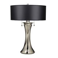 Lampa de bufet XXL Manhattan, nichel/negru, H-66cm