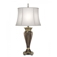 Lampa de bufet XXL Portland, bronz/alb, H-86cm