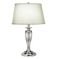 Lampa de bufet XL Stuyvesant, nichel/ivoriu, H-69cm