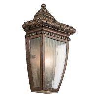 Aplica renascentista 1/2 Venetian Rain, bronz, 2x60W-E14, H-30cm, IP44