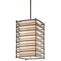 Lustra design Moxie, 4x100W, bronz, L-46cm, , H-79cm, H=104-160cm