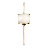 Aplica mare baie Mona, alama Polished Brass, IP44, 2x3,5W-G9-LED