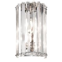Aplica baie Kichler Crystal Skye, cristal, L:17cm, H:28cm, 2xG9