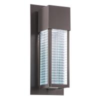 Aplica exterior stil contemporan Kichler Sorel, L:17cm, H:41cm, 1xGU10