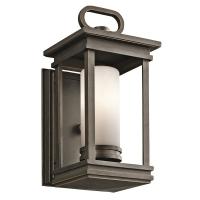 Aplica veranda Kichler South Hope, bronz, L:14cm, H:30cm, 1x60W-E14