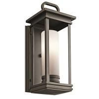 Aplica pasarela Kichler South Hope, bronz, L:18cm, H:45cm, 1x60W-E27