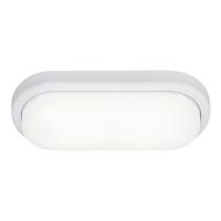 Aplica baie ovala LED Loki, alb, IP54, 15W-LED, lumina neutra